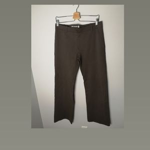 Betabrand brown classic pant